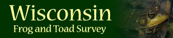 Wisconsin Frog and Toad Survey logo