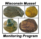 Wisconsin Mussel Monitoring Program logo