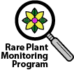 Rare Plant Monitoring Program logo
